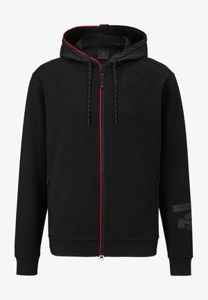 CAMILL - Zip-up hoodie - schwarz