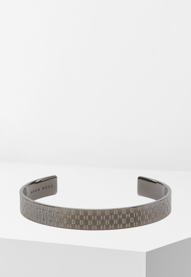 BOSS - HB BANGLE - Bracelet - dark grey