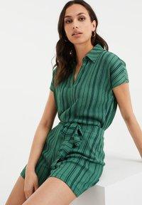 WE Fashion - Print T-shirt - green - 4