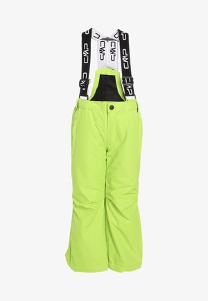 SALOPETTE - Snow pants - lime green