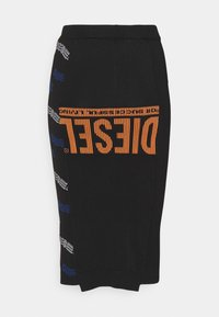 Diesel - M-WAX - Pouzdrová sukně - black - 1