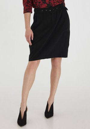 FRLAJUMP - Pencil skirt - black