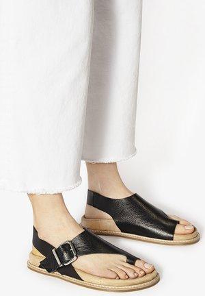 T-bar sandals - mntrl black nbl