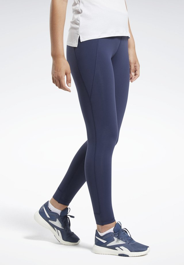 REEBOK LUX TIGHTS 2.0 - Leggings - blue