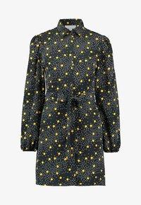SPOT DRESS - Košilové šaty - mustard
