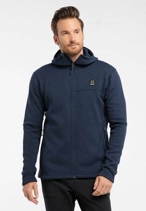 SWOOK HOOD - Fleece jacket - tarn blue