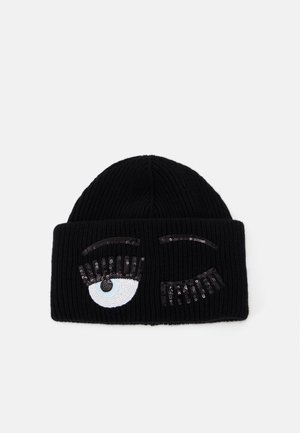 FLIRTING BEANIE - Bonnet - black