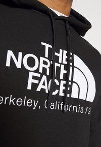 The North Face - BERKELEY CALIFORNIA HOODIE - Sweatshirt - black - 4