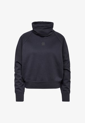 HIGH TURTLE NECK LOOSE - Sweatshirt - mazarine blue