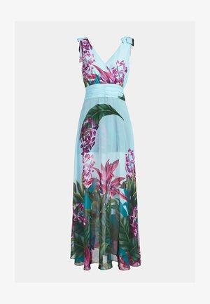 BLUMENPRINT - Maxi dress - hellblau