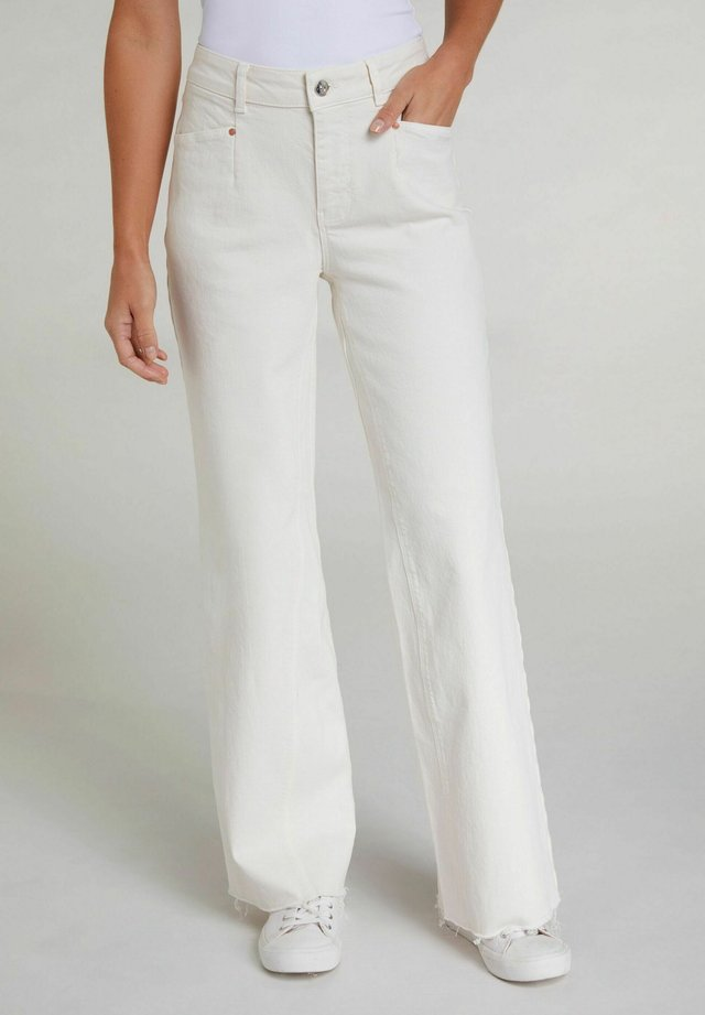Flared Jeans - antique white