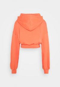 NU-IN - CROPPED HOODIE - Hoodie - orange - 1