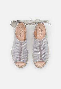 Gaimo - VILLA - Platform sandals - gris - 5