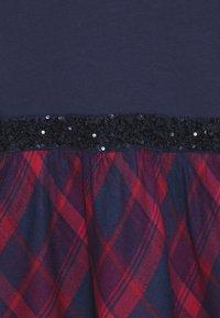 happy girls - TARTAN - Jerseyklänning - navy - 4
