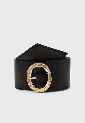 NIMO WAIST BELT - Waist belt - black/gold