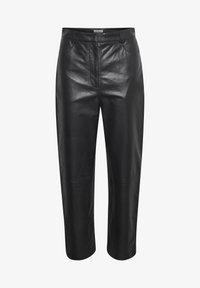 Soaked in Luxury - SLPATRICIA - Leather trousers - black - 4