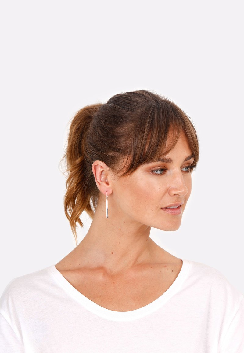 Elli - GEO LOOK BASIC - Earrings - silber