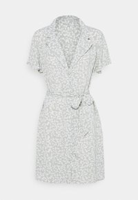 Nly by Nelly - EVERYDAY DRESS - Shirt dress - green floral - 4