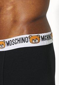 Moschino Underwear - TRUNK 2 PACK - Underbukse - black - 2