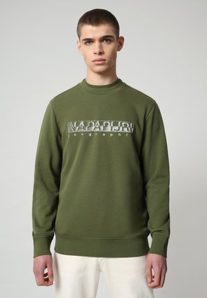 BALLAR - Sweater - green cypress