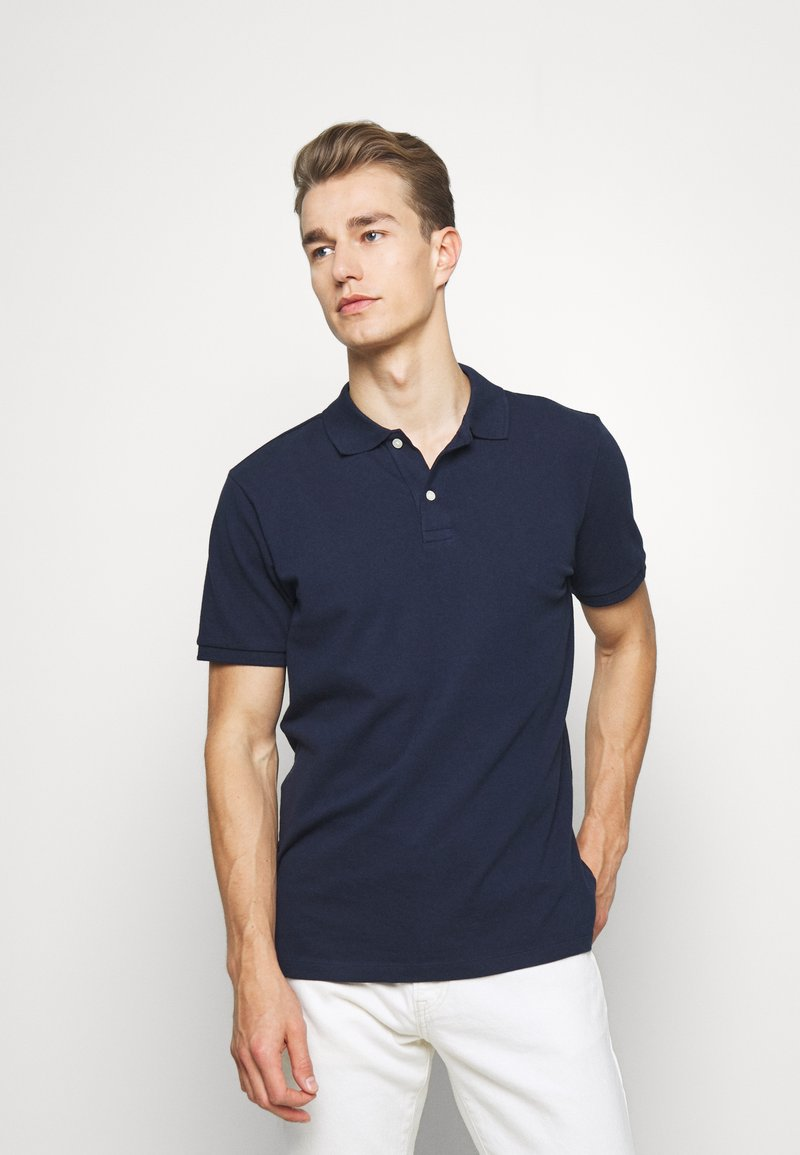 GAP - SOLID - Polo shirt - tapestry navy