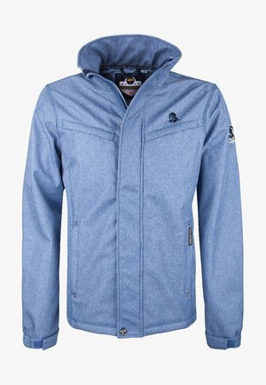 ANORAK - Summer jacket - jeansblau melange