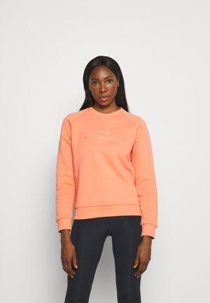 ORIGINAL CREW - Sweatshirt - light orange