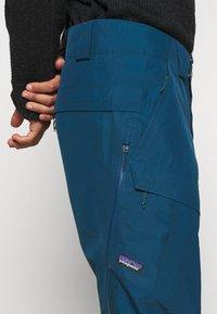 Patagonia - POWDER BOWL PANTS - Snow pants - crater blue - 3