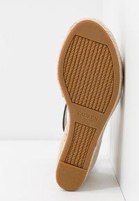 Lauren Ralph Lauren - HALE CASUAL - High heeled sandals - black - 6