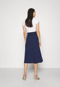 TFNC - ZADA SKIRT - A-line skirt - navy - 2