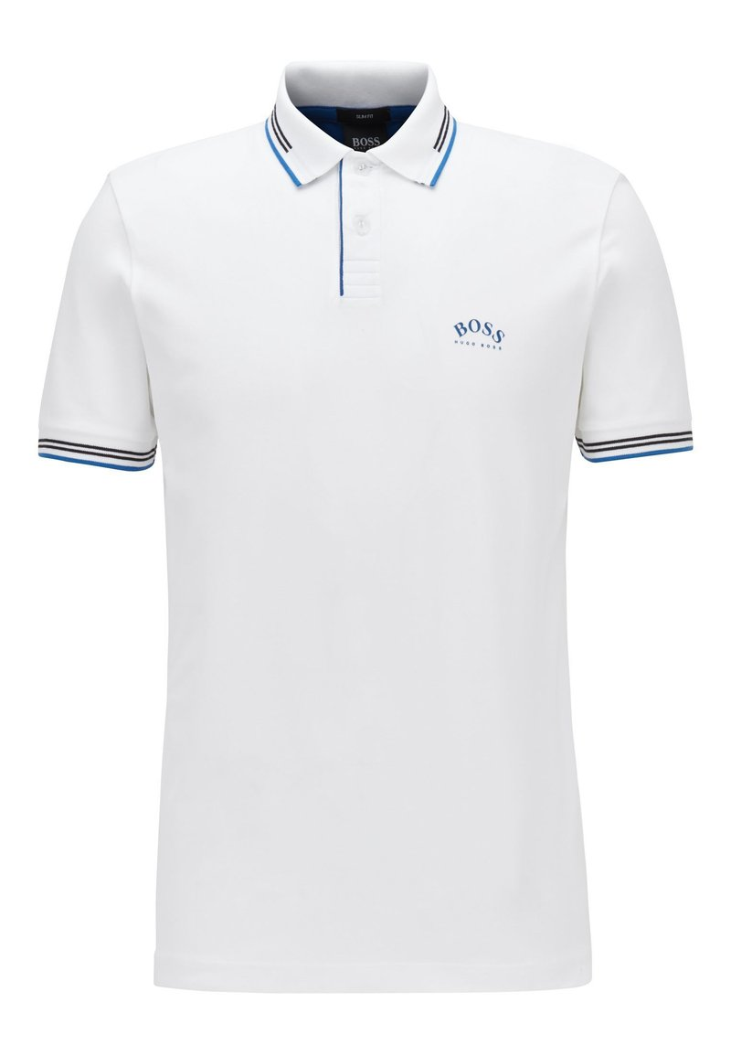 BOSS - PAUL CURVED - Polo shirt - natural