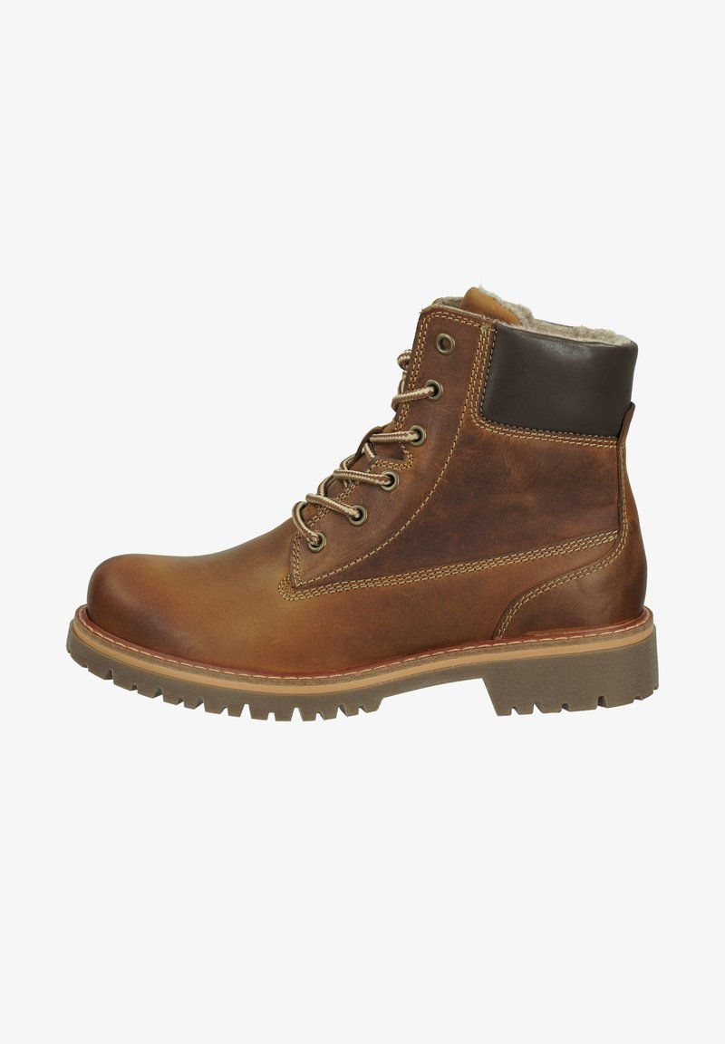 camel active - Lace-up boots - tan