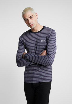 JCOTAYLER TEE CREW NECK - Pitkähihainen paita - purple velvet