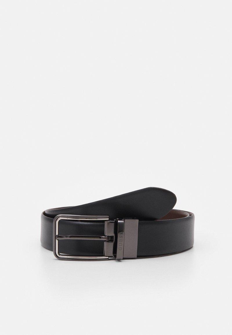 Guess - BELT REVERSIBLE - Belt - black/brown