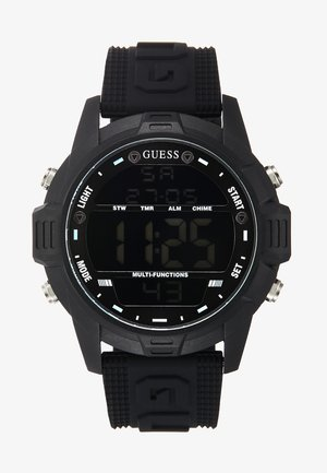 Digital watch - black/gunmetal