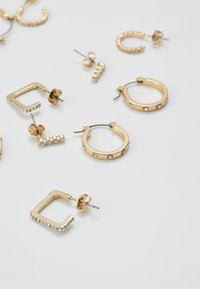 Pieces - PCNINKIE HOOP EARRINGS 5 PACK - Ohrringe - gold-coloured - 2