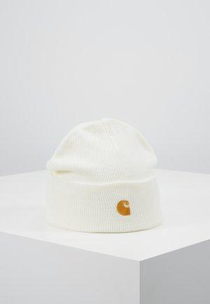CHASE BEANIE - Beanie - white/gold