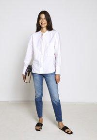 CLOSED - ROWAN - Button-down blouse - rose quartz - 1