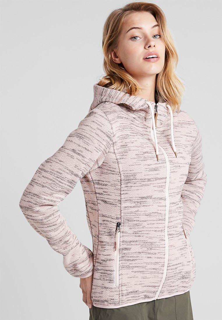 Icepeak - ARLEY - Fleece jacket - baby pink