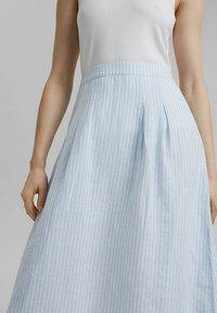 Esprit - A-line skirt - light blue - 3