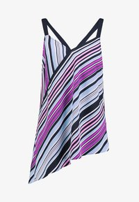 Vince Camuto - ASYMMETRICAL COLORFUL BOARDWALK TANK - Bluser - classic navy - 4