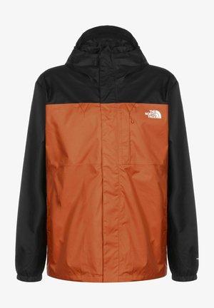 DOPPEL - Sports jacket - burnt ochre/black