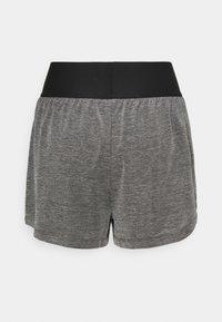 Nike Performance - SHORT - Sports shorts - black heather/black/white - 7