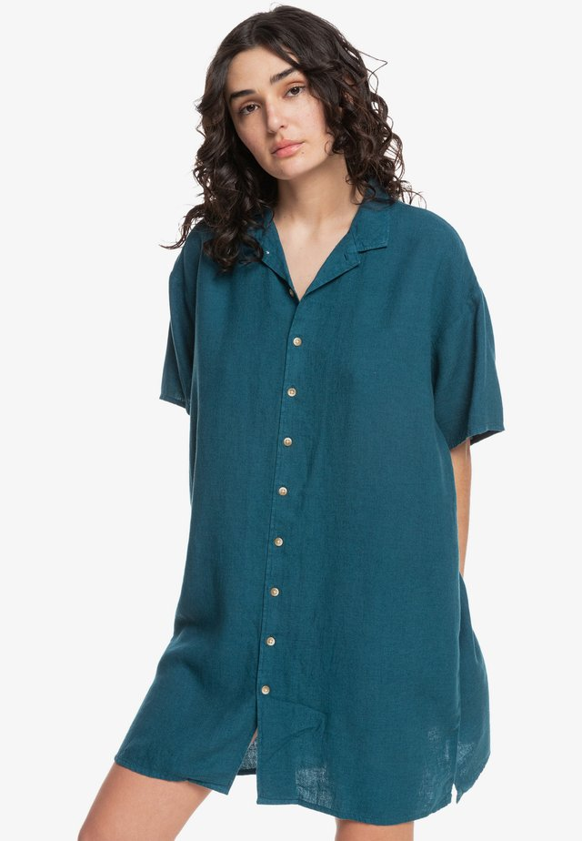SURF CAMP - Shirt dress - moroccan blue