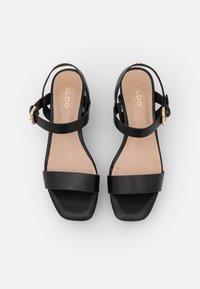 ALDO - ELOINIEL - Platform sandals - black - 5