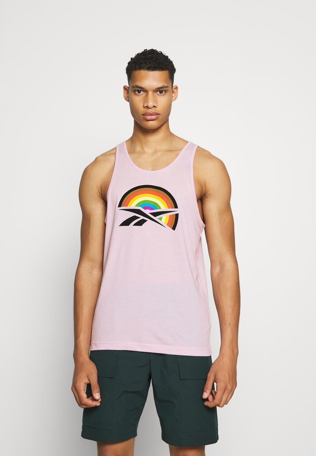 PRIDE GRAPHIC TANK UNISEX - Top - frost berry