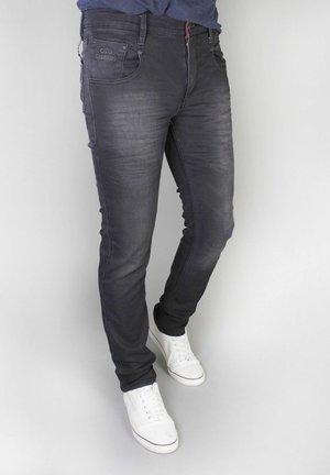 TREVISO - Straight leg -farkut - denim black