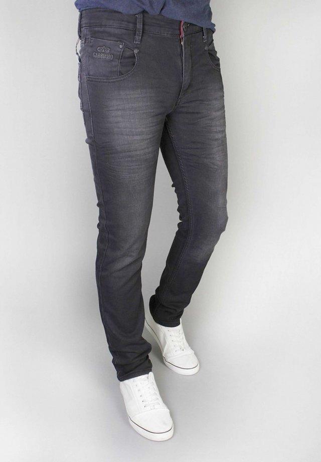 TREVISO - Jeans a sigaretta - denim black