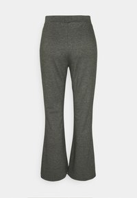 Even&Odd - Flared leg joggers - Tracksuit bottoms - mottled dark grey - 1