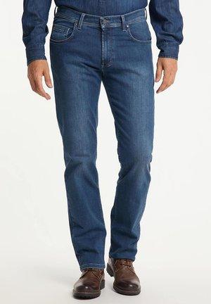 RANDO  - Straight leg jeans - stone used